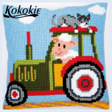 Accessories for cross stitch pillow kits embroider needlewor
