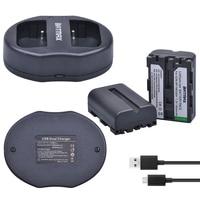 2 шт. 1800 мАч NP-FM500H NP FM500H Батареи для камеры + USB двойной Зарядное устройство для Sony A57 A65 A77 A99 A350 A550 a580 A900 Камера Батареи
