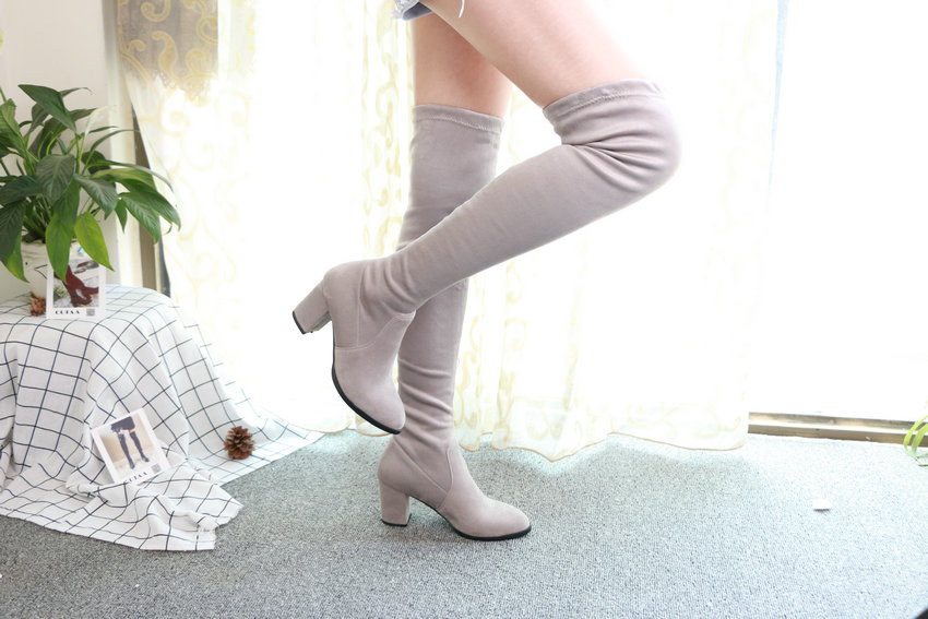 Women Over The Knee High Heel Winter Sexy Boots 62