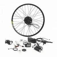 350 Вт электрический велосипед комплект для 26' 27,5 '29' Мотор колеса чайник Батарея светодио дный ЖК дисплей Ebike e велосипед электрический велоси