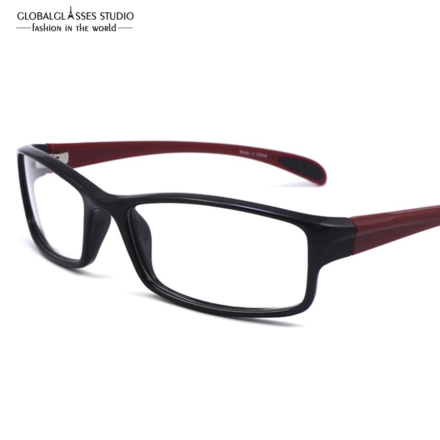 ec3646200 شحن مجاني للجنسين TR90 مشهد بصري إطار فائقة ضوء قصر النظر النظارات الرياضية  نظارات إطارات 11203