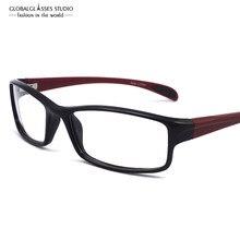 8e3e23734 Frete Grátis Unisex TR90 Espetáculo Óptico Quadro Ultra Leve Armações de  Óculos de Miopia Esportes Eyewear 11203