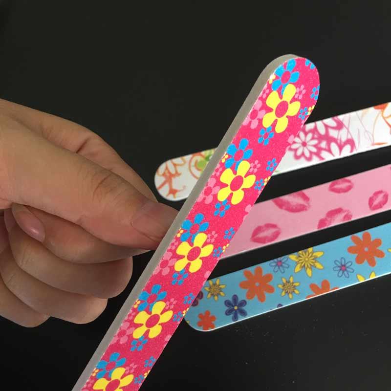20Pcs Acrylic Nail File Buffer Buffing Manicure Tools Nail Buffer ...
