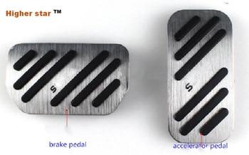 Wyższa gwiazda ze stopu aluminium ze stopu aluminium pedał sprzęgła, pedał gazu, pedał hamulca, samochód w podłodze dla Suzuki Vitara 2014-2017