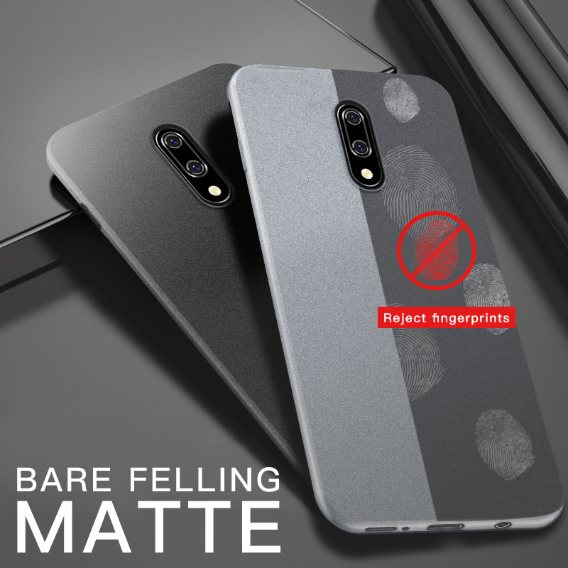 Matte Sandstone Silicone Phone Case For Oneplus Soft Frosted Skin Cover Coque Protection 2