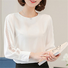 Hollow Out Lace Blouse