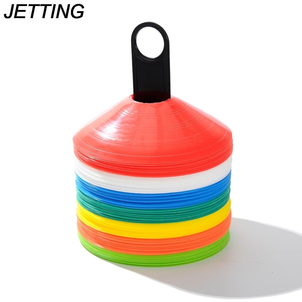 HOT  10 Pcs 19cm Football Training Sports Saucer  Cones Marker Discs Soccer Entertainment Sports Accessories