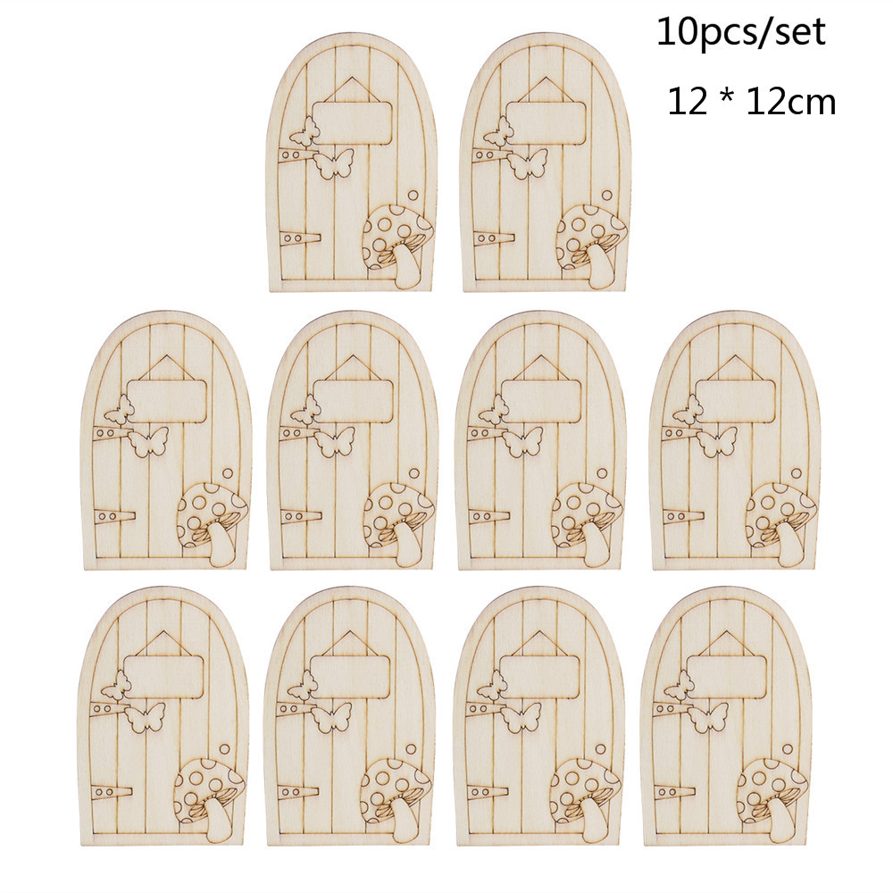 Besen Aufhängen ostern 10 stücke holzschmuck mit string dekoration hexe