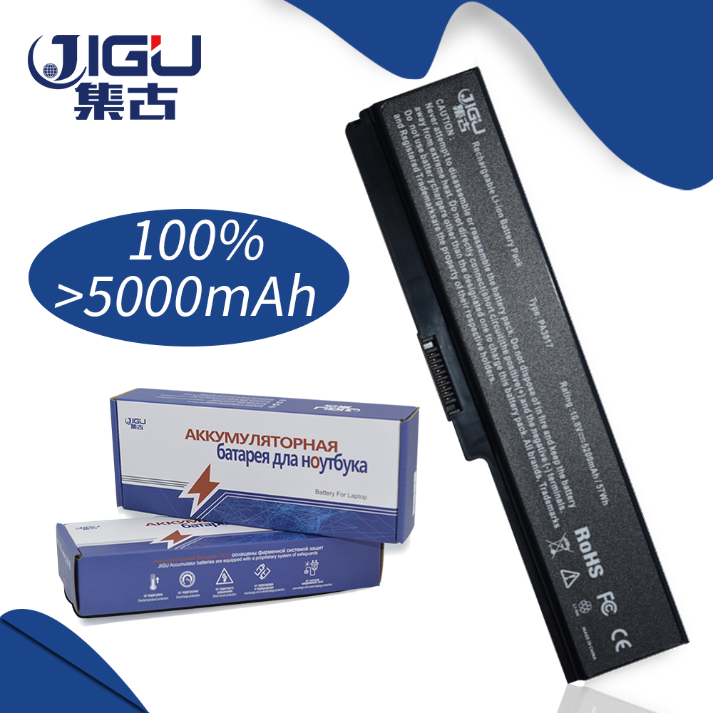 JIGU Laptop Battery For Toshiba Satellite A660 C640 C650 C655 L510 L630 L640 L650 U400 PA3817U-1BRS PA3816U-1BAS PA3818U-1BRS wholesale v000225020 laptop motherboard for toshiba c650 c655 100