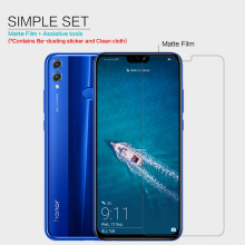 Huawei Honor 8X Screen Protector Nillkin Clear / Matte Soft Plastic Film for