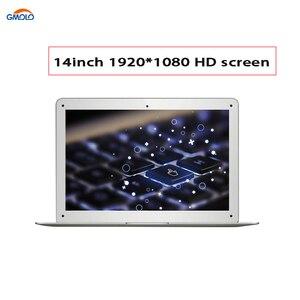 Image 4 - 13.3 אינץ ultra דק מחשב נייד ב תל quad core 2G/6GB 32GB/64GB EMMC 1920*1080 HD מסך HDMI bluetooth windows 10 מחברת