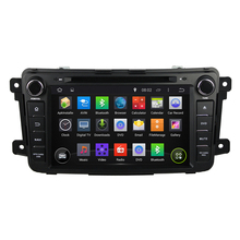 1024*600 android 4.4 2 din android car dvd player  For mazda cx-9 mazda cx9 with WIFI 3G GPS Capacitive screen stereo Car radio