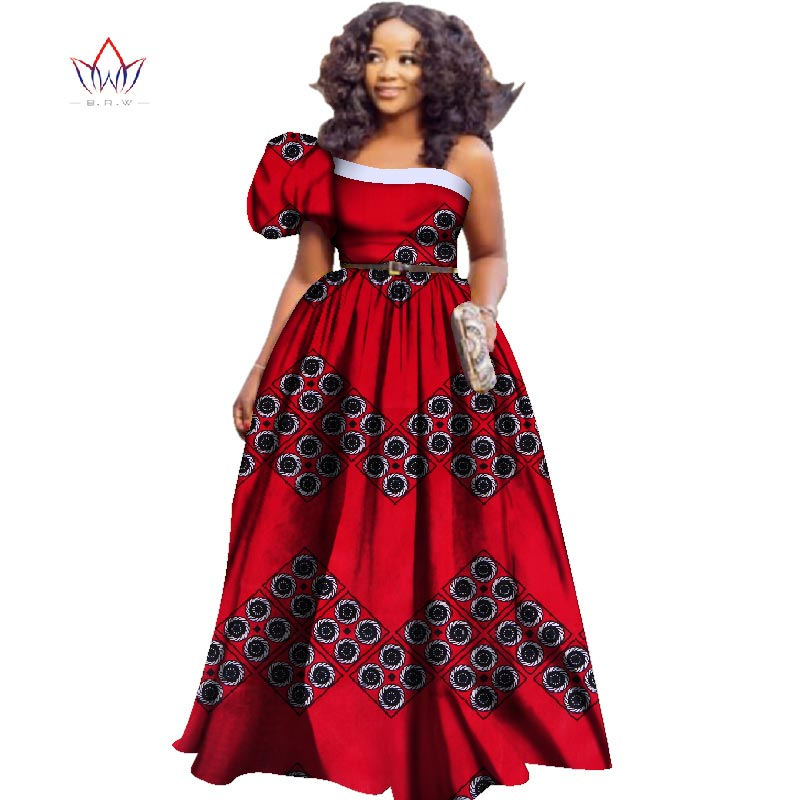 African American Girls Fashion: 2018 Fashion African Dresses For Women Dashiki Plus Size