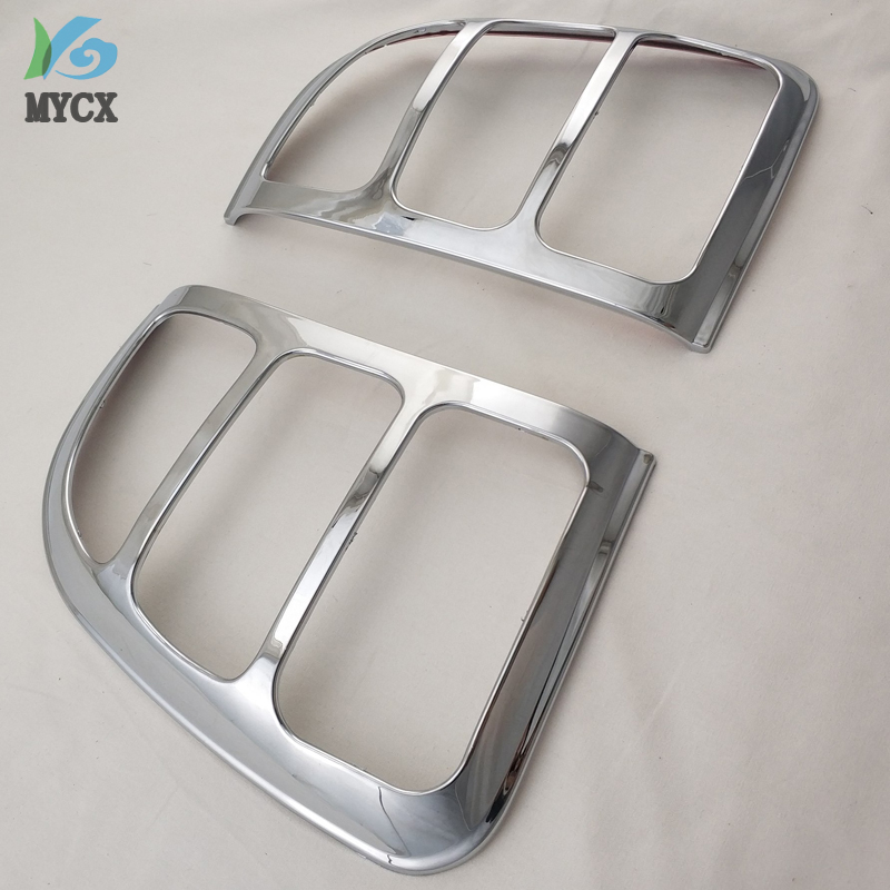 For Toyota Rav4 Accessories Tail Lights Cover Trim For Toyota <font><b>Rav</b></font> <font><b>4</b></font> 1996 <font><b>1997</b></font> 1998 1999 2000 Chrome Rav4 Decorative Accessory image