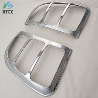 For Toyota Rav4 Accessories Tail Lights Cover Trim For Toyota Rav 4 1996 1997 1998 1999 2000 Chrome Rav4 Decorative Accessory