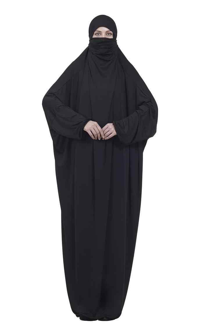 Burqa Khimar Jilbab Abaya Kaftan Thobe Muslim Hijab Islam Overhead Prayer Dress