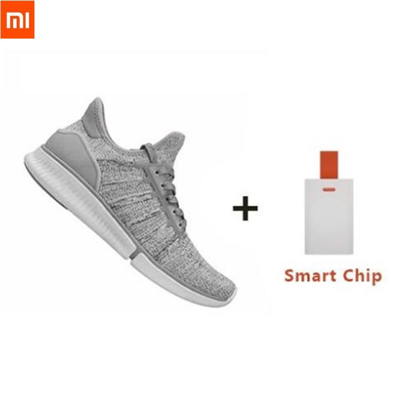 24Hours Ship Xiaomi Mijia Smart Chip Shoes Fashionable Design Replaceable Waterproof IP67 APP Control Sport Shoes