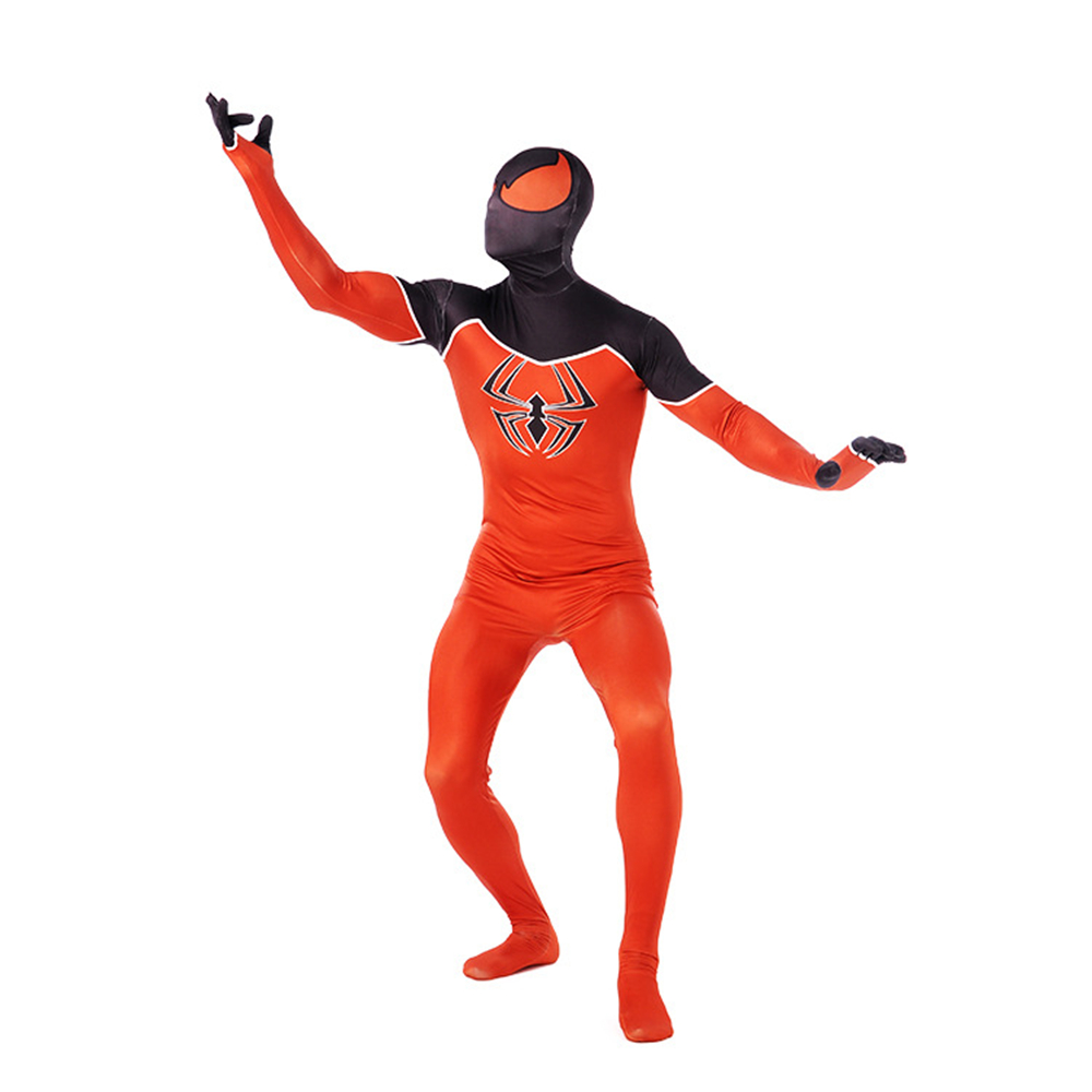 Superhero Spider-Man: Homecoming Costumes Spider-Man Tights Cosplay Leica Spandex Printed Onesies Printed zentai Tights