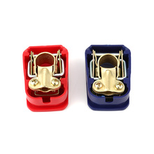 2Pieces Car Battery Terminal Connector Clamps Switch 12V Auto Quick Release Connectors Switch Battery Quick Disconnect Terminals