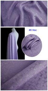 Image 2 - כבד משי חומר לוטוס אקארד משי בד עבור שמלות חולצות משי ויסקוזה