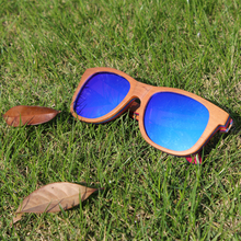 Vintage Natural Wood Sunglasses Polarized Unisex