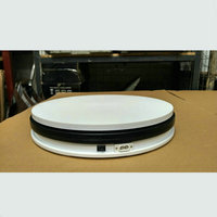 250X60MM Electric Turntable Display Stand 360 Swiveling Plateform 20 35 60 120 Secs Per Circle Electric