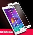 Full Cover Tempered Glass Screen Guard Film for Samsung Galaxy Note 4 N9100 Full Coverage Anti-Explosion Screen Protector