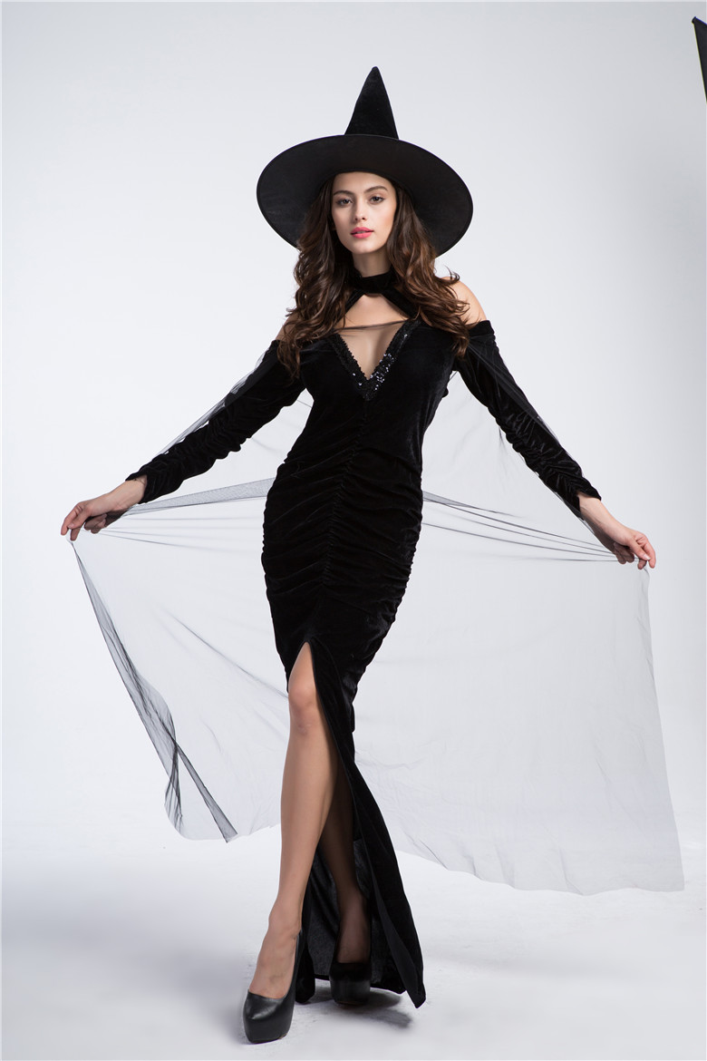 Popular Witch Hat Costume-Buy Cheap Witch Hat Costume lots from ...