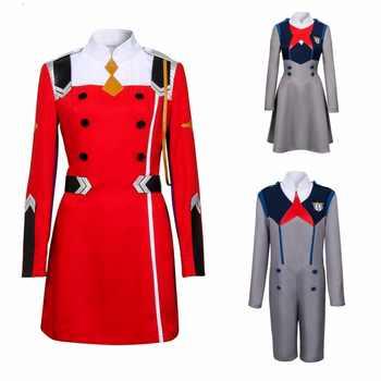 Takerlama Anime DARLING in the FRANXX Hiro CODE 016 Zero ICHIGO Two MIKU Cosplay Costume Uniform KOKORO School Uniform Cosplay - DISCOUNT ITEM  30% OFF All Category