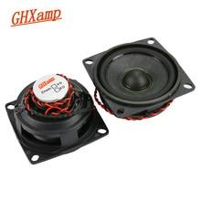GHXAMP 2 inch Mid Tweeter Speaker 6ohm 10 W Neodymium Bluetooth Speaker DIY Kogels Midrange Treble Luidspreker Rubber Rand 2 STUKS