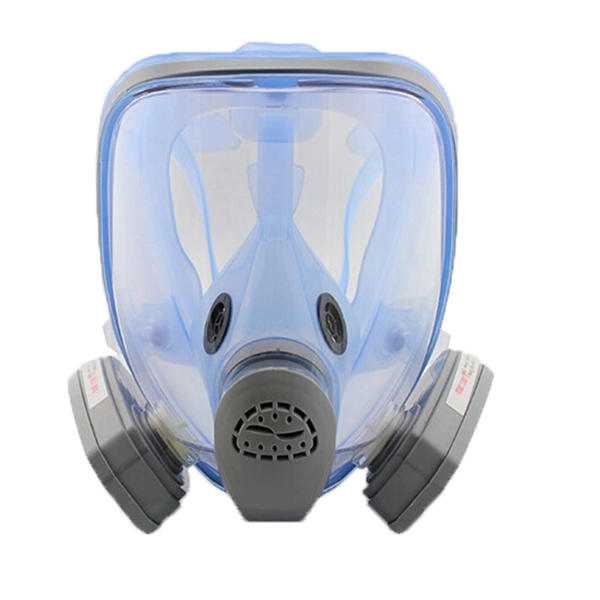 Full Face 9900A Gas Mask Pesticides Facepiece Respirator Painting Spraying Filter Cartridge Chemical Medicine Mask