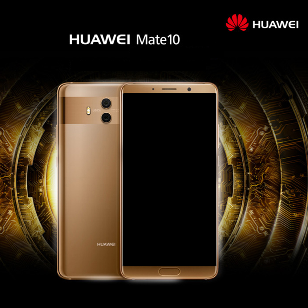 "Huawei Mate 10 Mobile Phone Android 8.0 4G 64G Dual Rear Cameras 4G LTE Octa Core 5.9""3D Curved Glass 4000mAh Fingerprint ID"