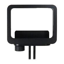 ยิงaliminumอัลลอยด์ป้องกันกรอบสำหรับgopro hero 5สีดำกล้องไปp ro 5อุปกรณ์เสริมกรณี