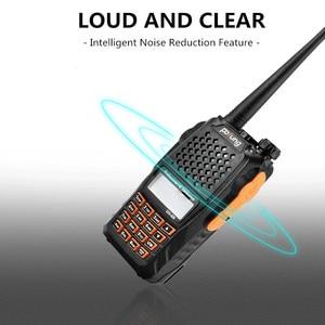 Image 2 - Baofeng UV 6R لاسلكي تخاطب 5 واط راديو UHF VHF ثنائي النطاق UV 6R CB راديو ترقية من UV 5R Baofeng تخاطب HF الإرسال والاستقبال للصيد