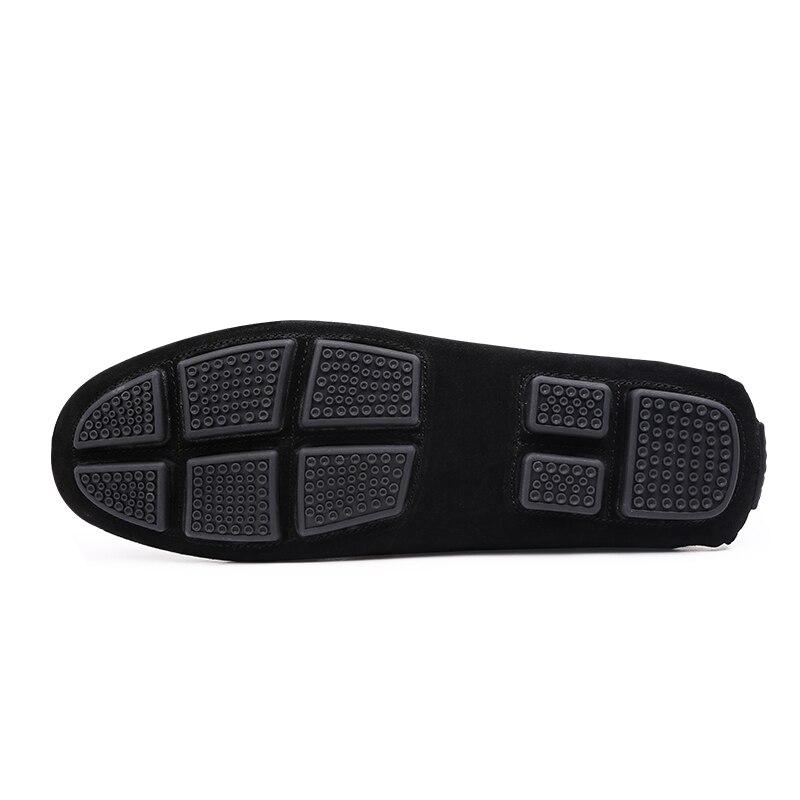 Condução Novos De Vaca Preto Leather Homens Suede Flats cáqui Mocassins Shoes Dos marrom Calçados Mocassim Alta cinza Yoylap Men Qualidade Moda Casuais 2018 wAxH0qzwTd