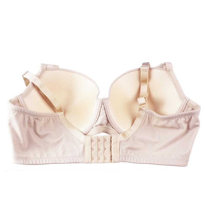 Image 5 - Sexy Push Up Bra Lace Bra T shirt Bra Plus Size for Women Very Support Underwire Bralette Black/Khaki 956-in Bras from Underwear & Sleepwears