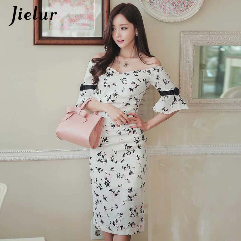 219b893f320b0 Detail Feedback Questions about Jielur Floral Dress Women Summer ...