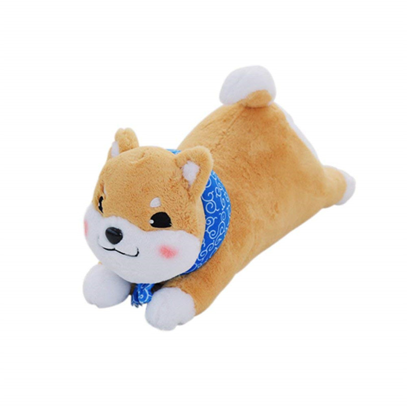 shiba inu seat stay japanese style stuffed soft animal dog cartoon pillow cushion toys bed decorative pet throw pillow durable in Cushion from Home Garden