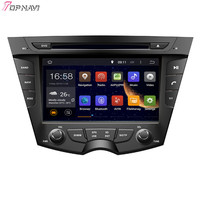 Topnavi 7'' Quad Core Android 6.0 Car GPS Navigation for HYUNDAI VELOSTER 2011 Autoradio Multimedia Audio Stereo