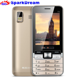 H-Mobile T1 Basic Big Keyboard Quad Band Elderly People Mobile Phone 2.8 inch Screen Bluetooth camera MP3 MP4 Cheap Cell Phone