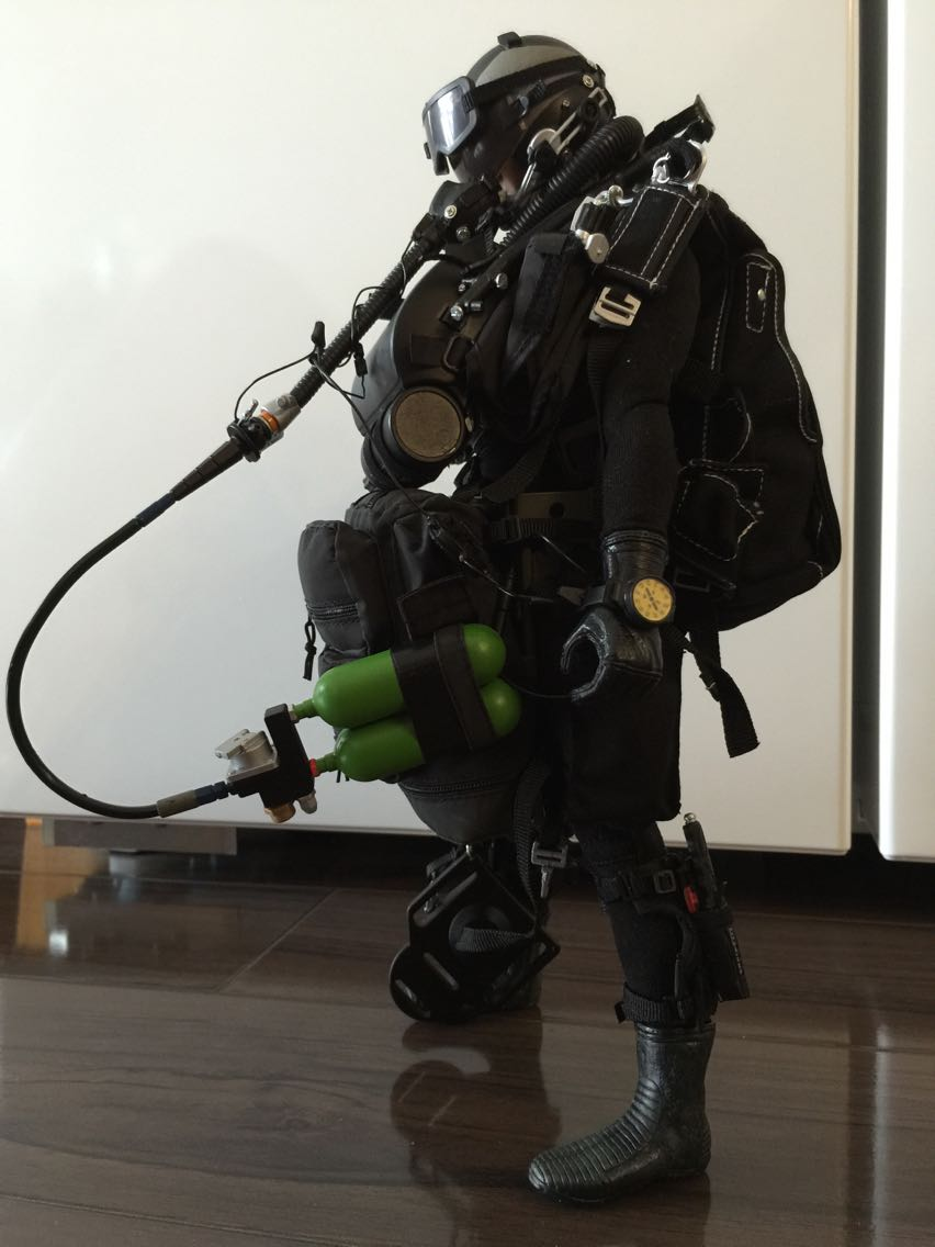 In-Stock 1//6 Scale  Veryhot VH 1040 US Navy Seal Halo Dry Suit NO Figure