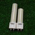 G12 conduziu a lâmpada 10 W 12 W 85 V-265 V 102 144 pcs 2835 SMD LEVOU Milho Lâmpadas Lâmpada de poupança de Energia de luz Branca, Branco morno 2 pçs/lote