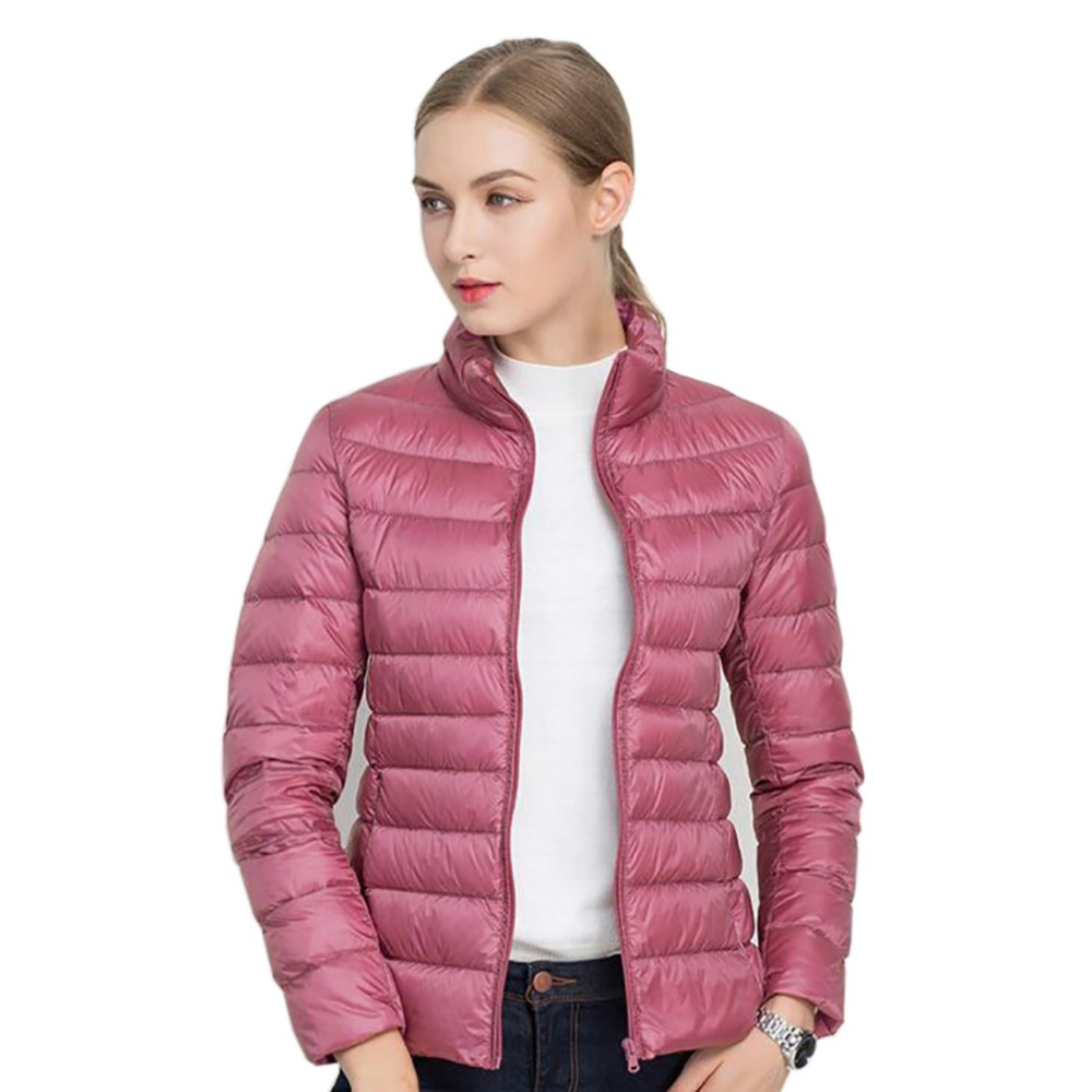 Basic Jacken Plus Größe 5xl 6xl 7xl Winter Mantel Ultra Licht 90% Weiße Ente Unten Jacke Frauen Dünne Weibliche Dünne Warme Jacke Winddicht Unten Mantel Belebende Durchblutung Und Schmerzen Stoppen