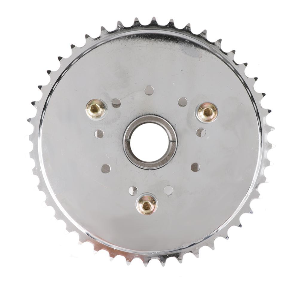 "1.5/"" Silver CNC Adapter 36T Sprocket Fit 49cc 50cc 66cc 80cc Motorized Bike"