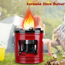 Red High-grade kerosene stove 2 rows width wicks 3-5 people use Outdoor burners Nori stoves Cooking Stove Burner Portable