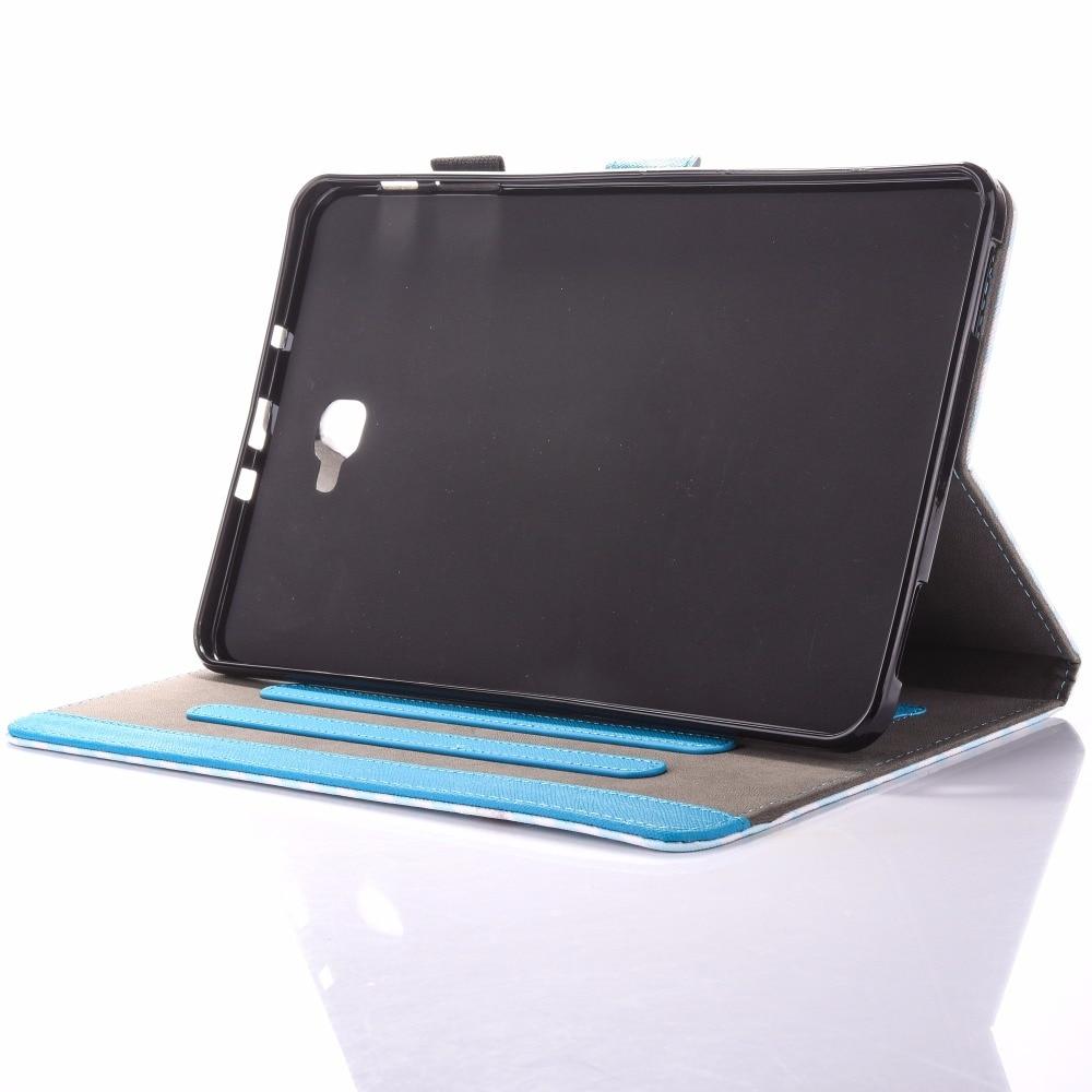Para Samsung Galaxy Tab A 10.1 T580 Estuche New Animal Impreso Folio - Accesorios para tablets - foto 3