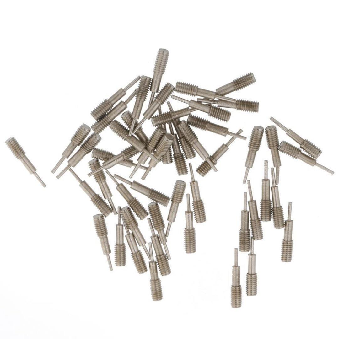 Watch Band Spring Bars Strap Link Pins Repair Watch Link Pins Tool Sets Professional 50Pcs Spare Pins