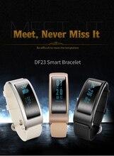 DF23 Smart пульсометр SmartBand Водонепроницаемый плавание Интеллектуальный будильник Watch Sport браслет для HUAWEI Xiaomi мужчин
