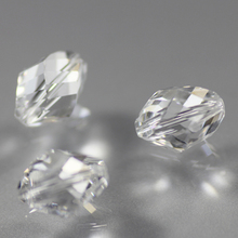 Shangquan Twist Oval Beads 13x10mm AAA Crystal Glass DIY For Jewelry Making