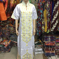 2016 de Las Nuevas Mujeres Vestido Bordado de La Manera Africana Riche Africano tradicional materia de Seis colores Más Tamaño S2405-1